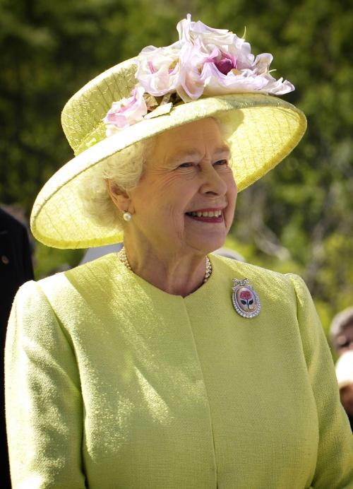 The Queen in 2007