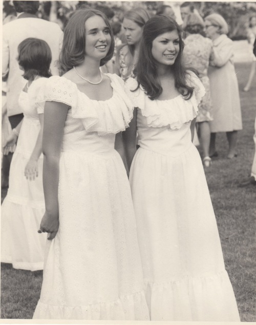 Harriet and Katie 1974