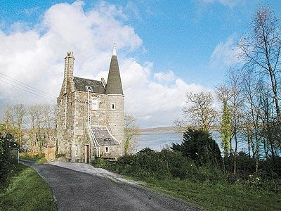 tower house near Auchencairn (via pinterest)
