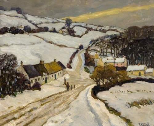Hull, Frederick W.; Winter above Ligoniel; National Museums Northern Ireland; http://www.artuk.org/artworks/winter-above-ligoniel-122191