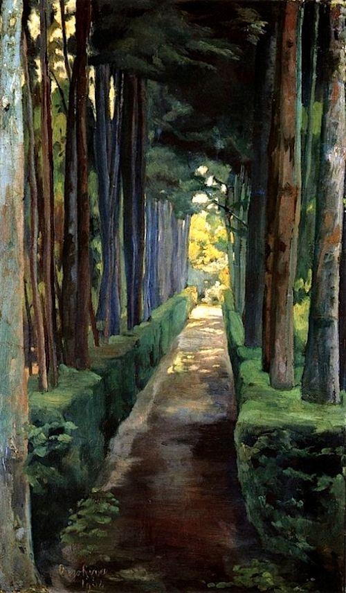"""Melancholy Promenade"" by Diego Rivera, 1904"