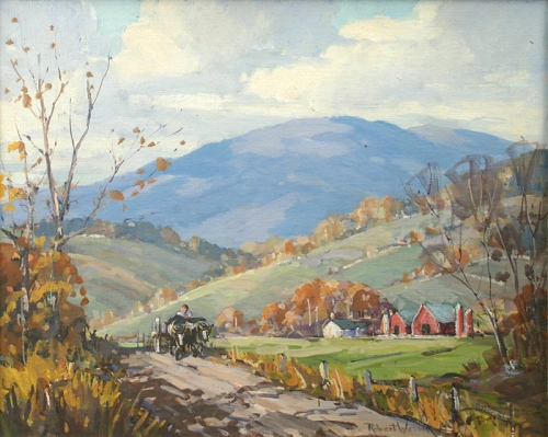 ori_333-34264-767917-Robert-Shaw-Wesson-painting-of-Vermont-farm-in-autumn-picture2